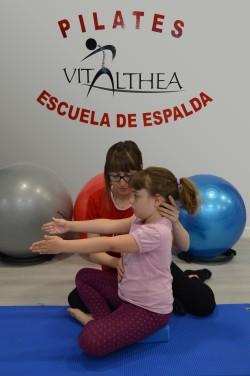 Escuela de Espalda infantil